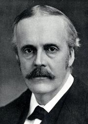 Portrait of Arthur Balfour (click to view image source)