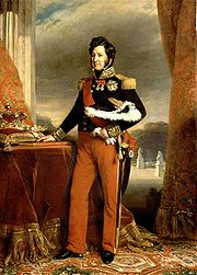 Portrait of King of France Louis Philippe (click to view image source)